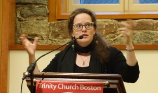 Lauren Winner lecturing