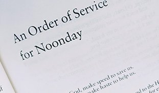 Special Noonday Service