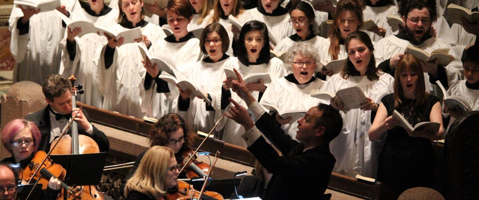 The Trinity Choir & Orchestra in concert.