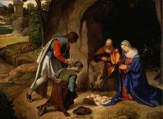 """""""Adoration of the Shepherds"""" – Giorgione (1477/78-1510)"""