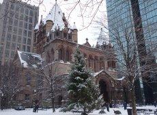 Trinity in Snow