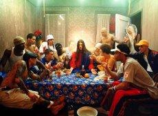 """John the Baptist Baptizing"" – artist unknown"