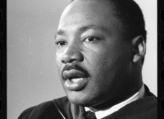 The Rev. Martin Luther King Junior