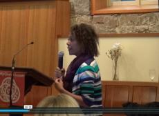 Arleigh Prelow presenting at the Forum