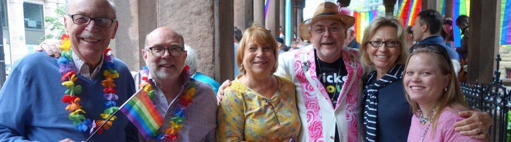 LGBTQ Fellowship at Boston Pride Parade 2016