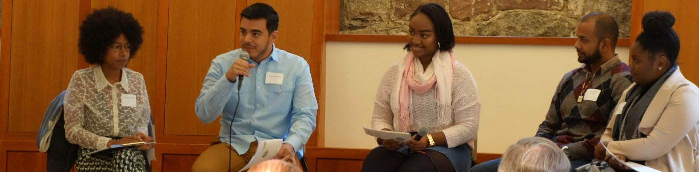 Young leaders speak during Anne Berry Bonnyman Symposium 2016.