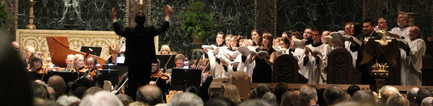 Choirs and orchestra sing Handel's Messiah in 2016
